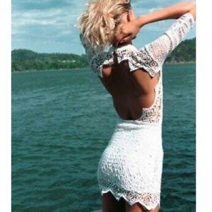Jen's pirate booty Nova crochet mini dress